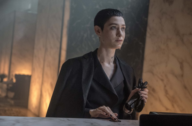 Actor Asia Kate Dillon Relishes Role in new 'John Wick' Movie