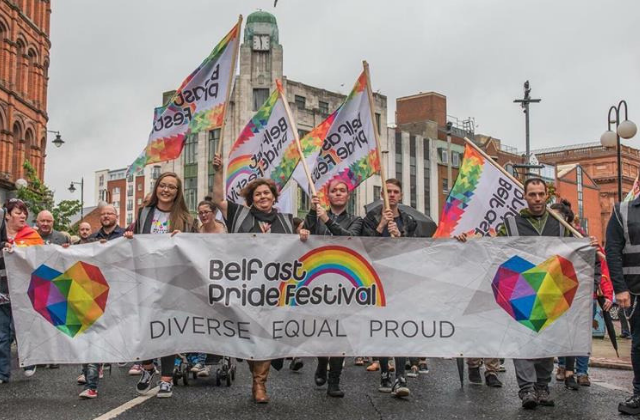 Rally Held in Support of Gay Marriage in Northern Ireland
