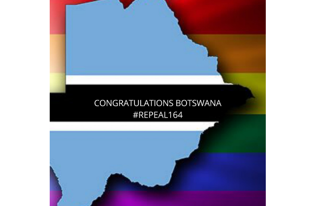 Gay Sex Legalized in Botswana