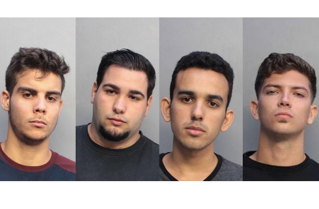 Trial Date Set for Four Men Accused of Hate Crime in Miami Beach