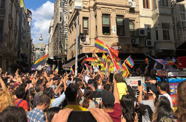 Istanbul Police Use Tear Gas at Banned Pride March