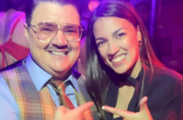 Ocasio-Cortez Makes a Splash at NYC Drag Show