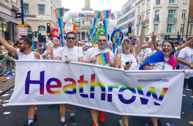Heathrow Airport Places Pride Ads Near Brunei Airline