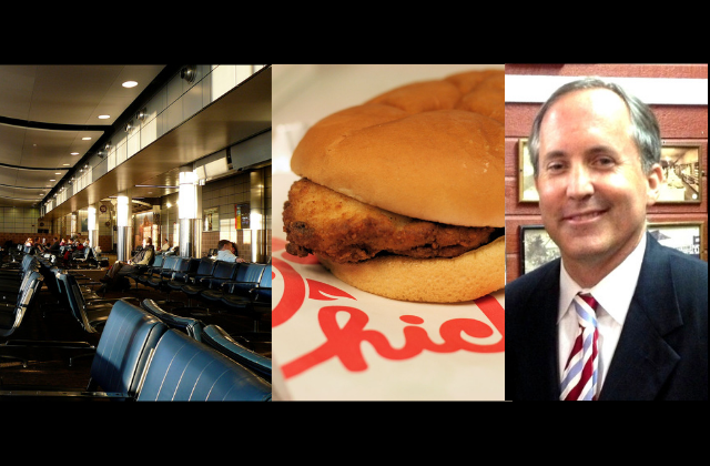 San Antonio Bans Chick-fil-A From Its Airport, Texas AG Investigates