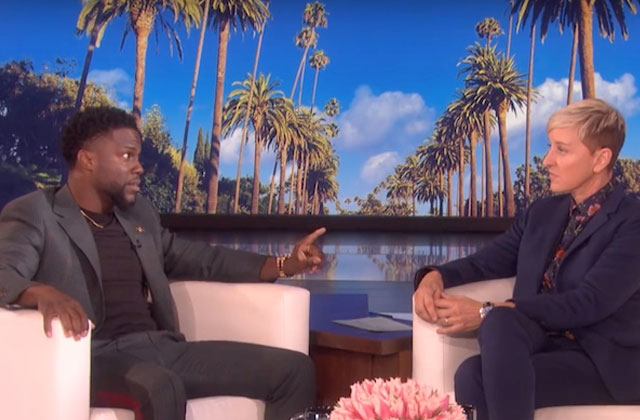 Ellen DeGeneres Under Fire For Supporting Kevin Hart After Homophobic Jokes Resurface