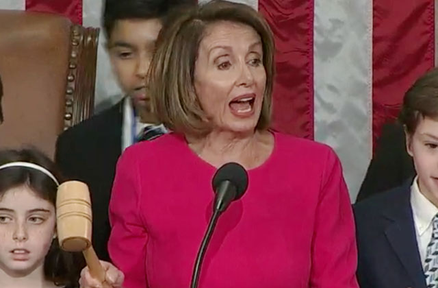 Pelosi Vows to Pass Equality Act as New House Speaker