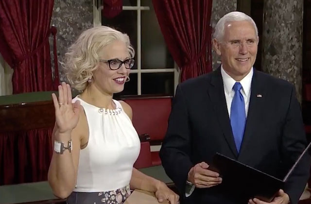 RNC Committeeman: 'Dumb ass people' elected bisexual Kyrsten Sinema to Senate