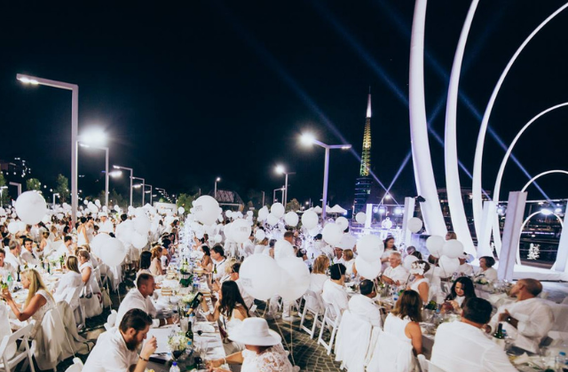Rick's Reviews: Le Diner en Blanc de Fort Lauderdale