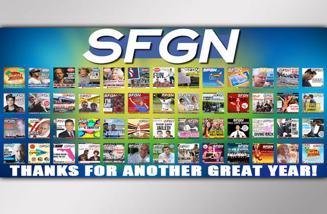 SFGN's 9th Anniversary Party on Wednesday