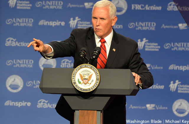 Pence Calls Criticism of Wife's Anti-LGBT School 'Deeply Offensive'