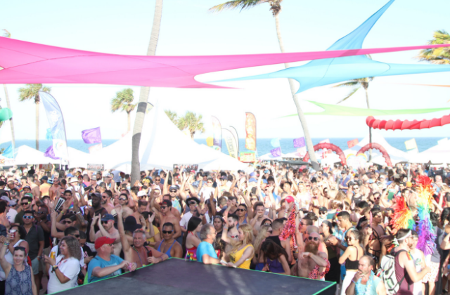 Pride Fort Lauderdale: Beach, Please!