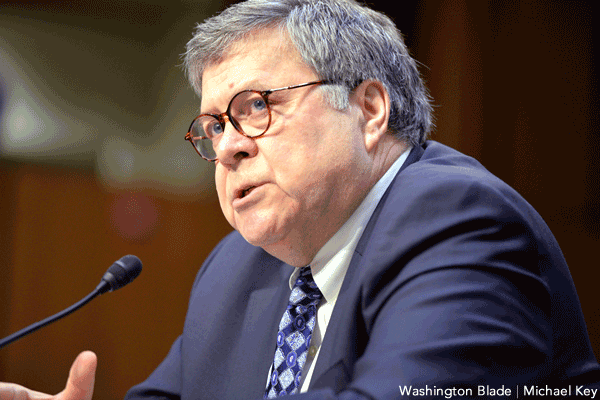 LGBT Groups Wary as William Barr Confirmed as U.S. Attorney General