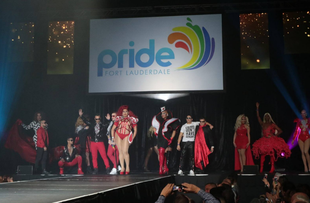 Fashion Show at the Hard Rock Kicks-Off Pride Fort Lauderdale