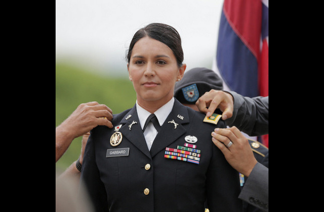 Gabbard Says Deploying to The Middle East Changed Her Views on LGBT Rights