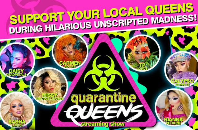Local Drag Queens Hosting Virtual Shows During Coronavirus Shutdown