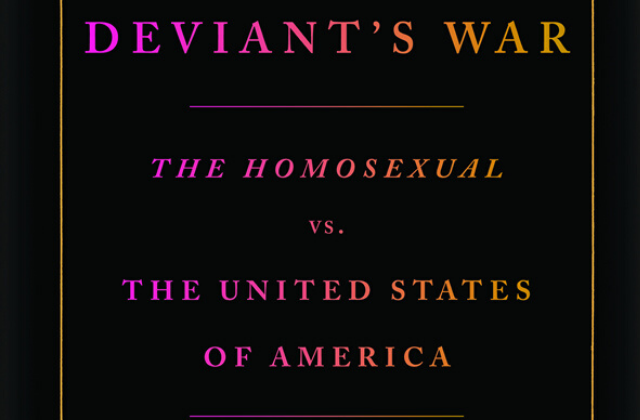 New Kameny Book Cover Mimics 1950 Report Calling Gays 'Perverts'