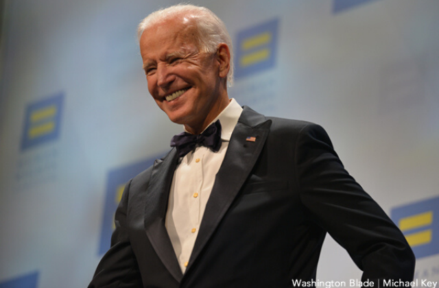 HRC Rolls Out Support for Biden on Anniversary of Marriage Endorsement