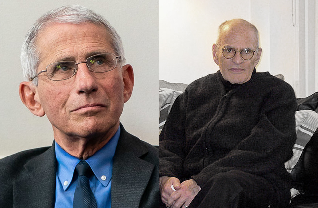 Anthony Fauci Reflects On Death Of Larry Kramer: 'He Was Truly An Icon'