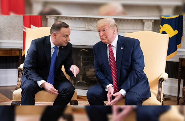 LGBT Groups Criticize Trump for Inviting Polish President