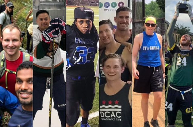 Glowing Year For D.C. amateur LGBT Sports Leagues
