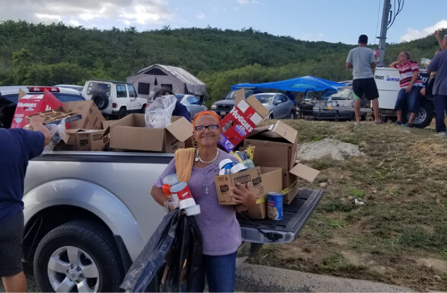 Puerto Rico LGBT activists Join earthquake Relief efforts