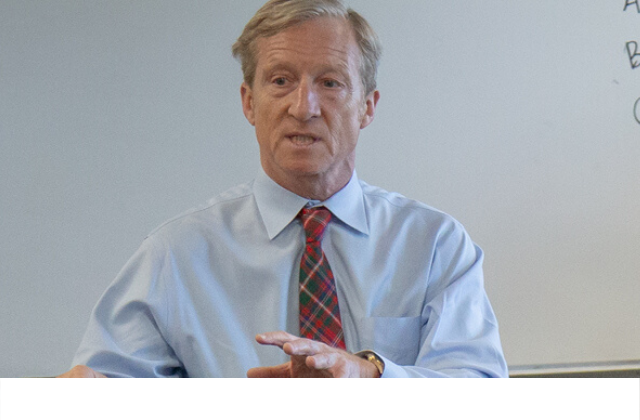 Tom Steyer Baffled By own Comments on LGBT asylum in NYT interview