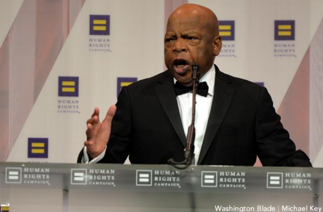 John Lewis Defended Gay Marriage in 2004 House Speech