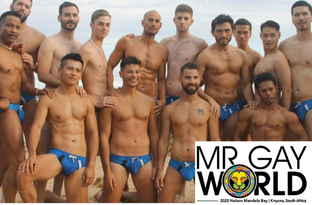 Mr. Gay World Saturday at Sunshine Cathedral