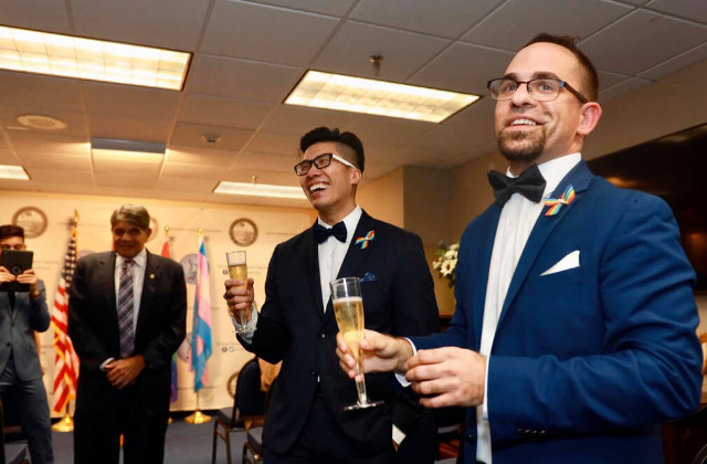 Same-Sex Couple Marries In Florida Capitol Ceremony