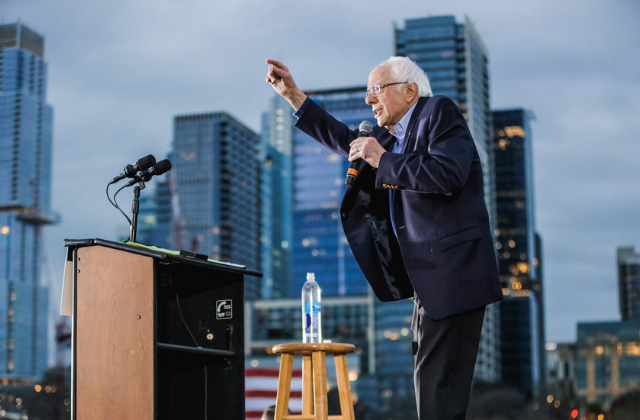 Bernie Blasted Over Castro Comments