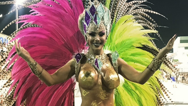 First Transgender Dancer Leads Drum Section at Carnival