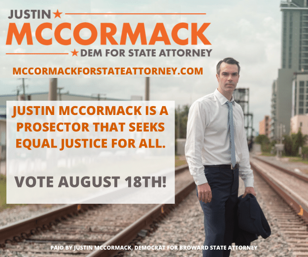 Campaign of Justin McCormack