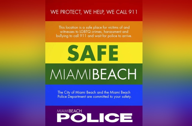 Miami Beach Has Created a 'Safe Space' Initiative for the LGBT Community
