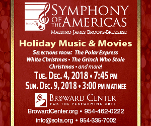 Symphony of Americas Holiday 2018