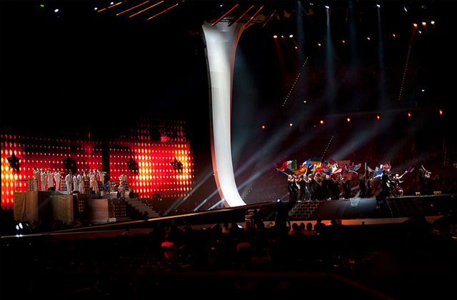 Eurovision Song Contest Heads to US Airwaves on Logo