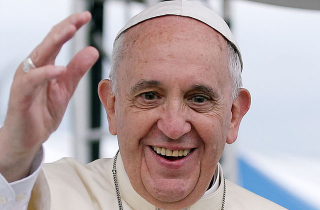 Pope Francis: Public Officials Shouldn't Have to Perform Same-Sex Unions