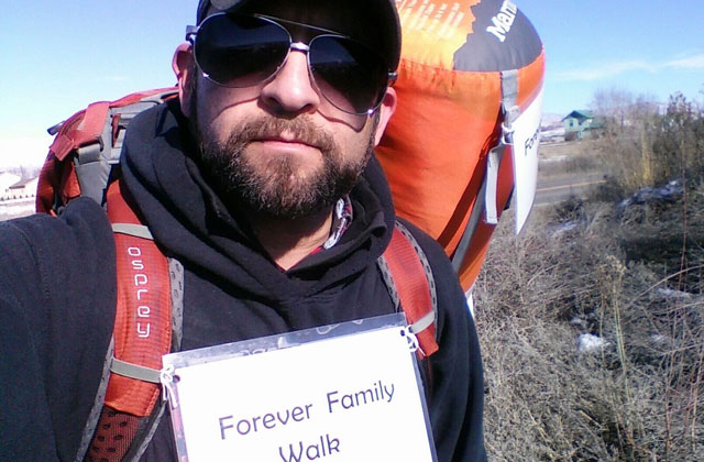 Gay Man Starts 'Forever Family Walk'