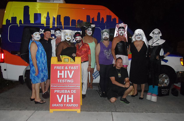 Latinos Salud Asks for Permanent Display of HIV/AIDS Sign