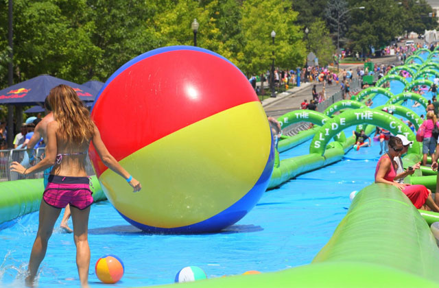 Giant Water Slide Promises Loads of Fun