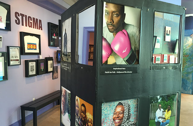 'Saving Grace' Exhibit Highlights Black Community's Relationship With AIDS