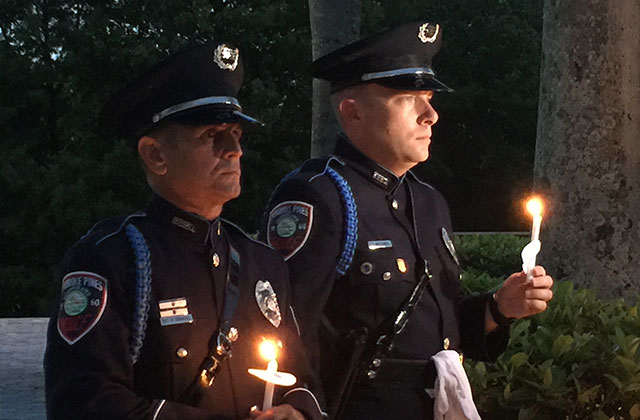 Hundreds Attend Candlelight Vigil at Pembroke Pines City Hall