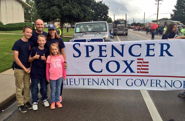 "Utah Lt. Governor Spencer Cox: ""My Heart Has Changed"""