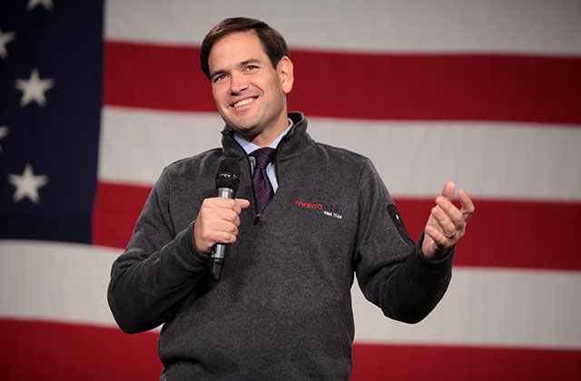 Rubio Reverses Course; Heads For Tough Re-Election Campaign
