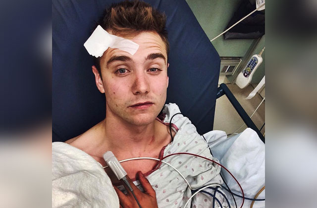 Gay YouTube Star Says He Was Attacked, Posts Pic