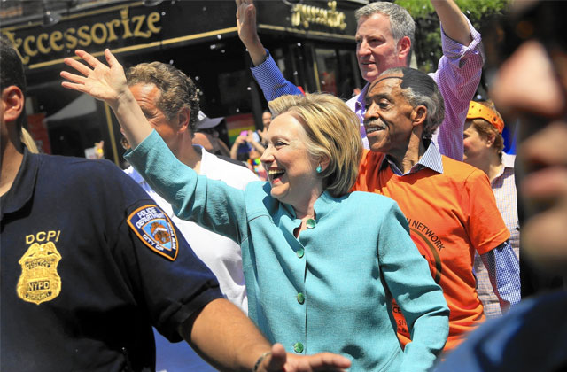 Hillary Clinton Makes Surprise Appearance at NYC's Pride March