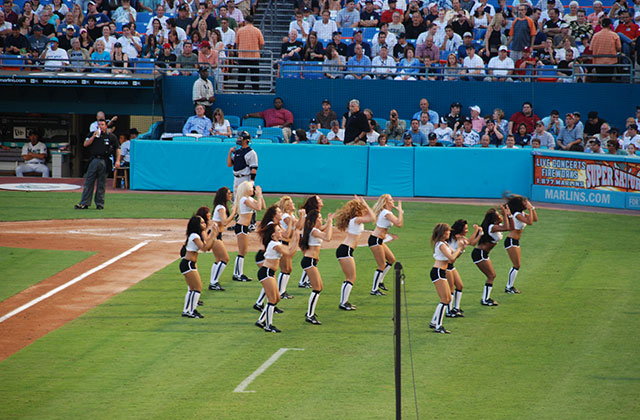 Marlins Pride Takes The Field