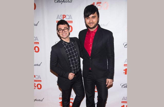 The Grooms Wore Black: Christian Siriano Weds Brad Walsh