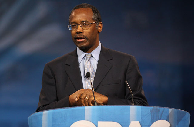 Carson compares being transgender to changing ethnicities
