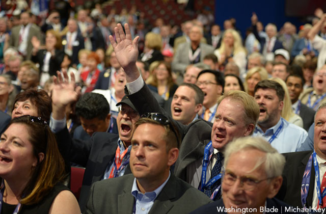 GOP Delegates Ratify Anti-LGBT Platform