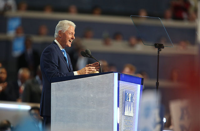 Bill Clinton Shouts Out LGBT Community in DNC Speech